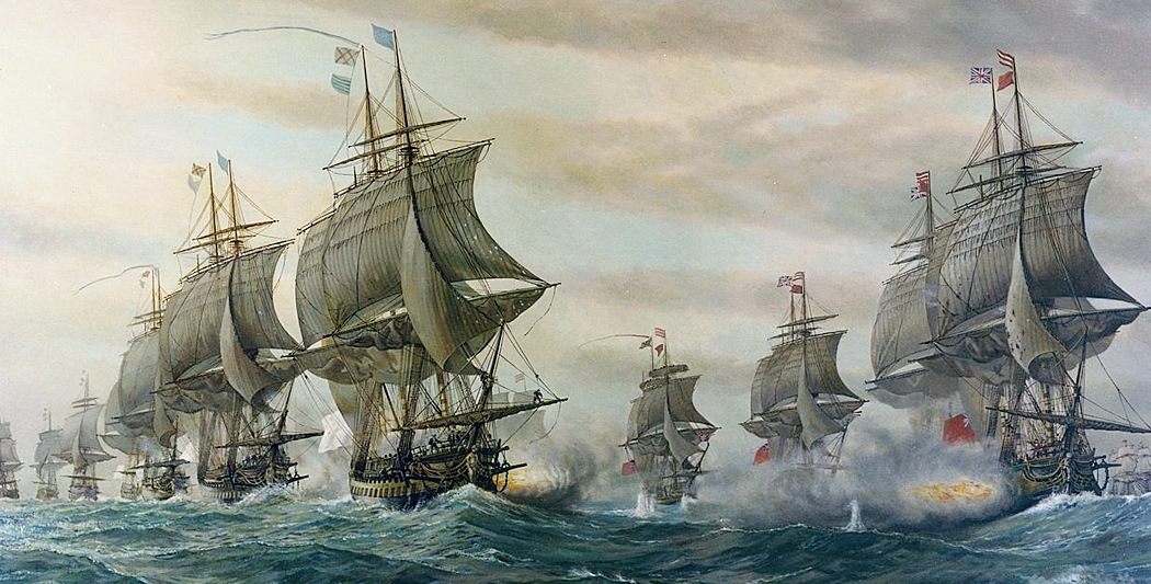 Bataille de Chasepeake | L'Hermione | historyweb.fr hermione L'Hermione prend la mer hermione historyweb 3